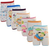 Lilsugar Brief For Boys (White Pack of 7...