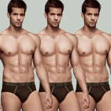 Rupa Men's Euro Brief (Pack of 3)