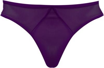 Laceandme Men's Purple Brief