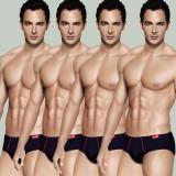 Rupa Men's Euro Brief (Pack of 4)