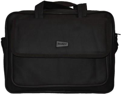 RDADY Leather Bag Medium Briefcase - For Men, Boys, Girls, Women