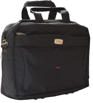 Teo 920 Medium Briefcase - For Men, Women(Black)