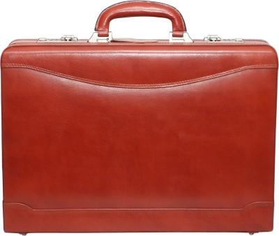 C Comfort Genuine Leather Expandable Briefcase Office Bag Medium Briefcase - For Men, Boys