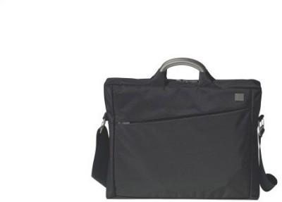 Lexon Eco Doc Medium Briefcase - For Men, Boys, Women(Black)