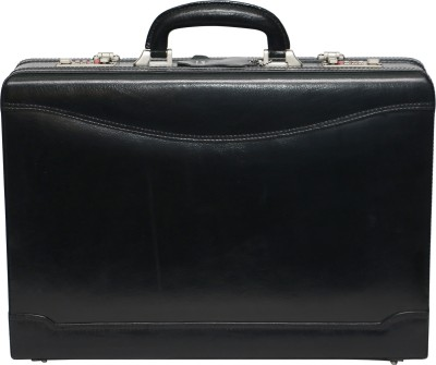 C Comfort Genuine Leather Expandable Office Bag Medium Briefcase - For Men, Boys