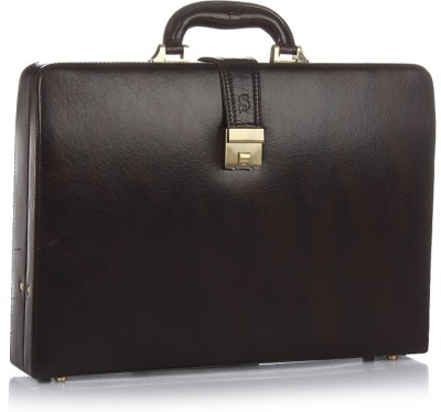 Stamp BC077BK Medium Briefcase - For Men