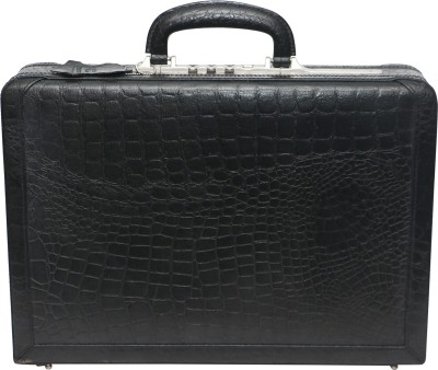 C Comfort EL451 Genuine Leather Expandable Briefcase Office Bag Medium Briefcase - For Boys, Men