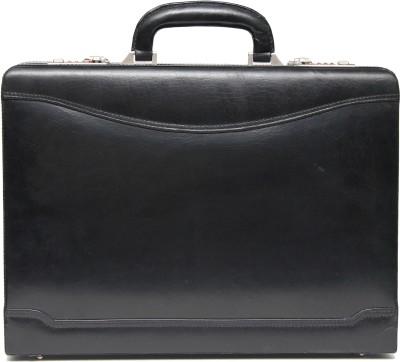 C Comfort Genuine Leather Medium Briefcase - For Men, Women