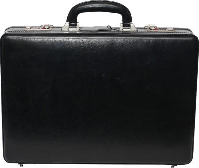C Comfort EL442 C Comfort Genuine Leather Expandable Briefcase Office Bag Medium Briefcase - For Men, Boys