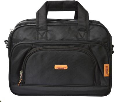 Reindeer 3004 Large Briefcase - For Men(Black)