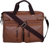Justanned 15 inch Laptop Backpack (Tan)