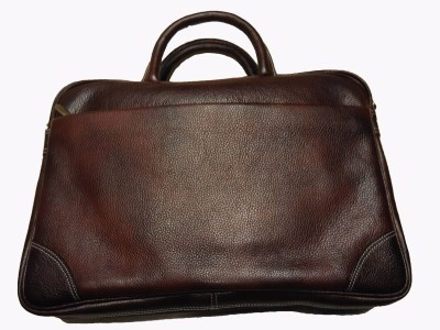 Leather Mall Foliocase 01 Large Briefcase - For Men