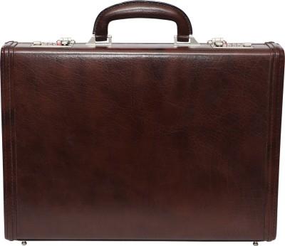 C Comfort EL462 Genuine Leather Office Bag Medium Briefcase - For Men, Boys