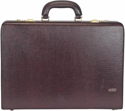 Adamis BC13 Medium Briefcase - For Men(Wine)