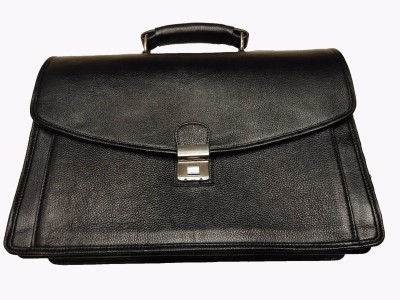 Leather Mall Folio Case 02 Large Briefcase - For Men