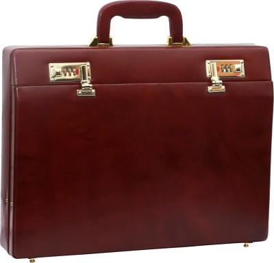 RAMBLER MARU COGNAC Medium Briefcase - For Men(Red)