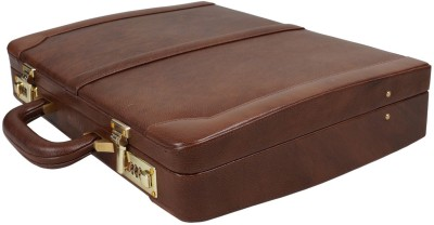 Clubb Leather Medium Briefcase - For Men