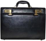 Mex Sleek Medium Briefcase - For Men (Bl...