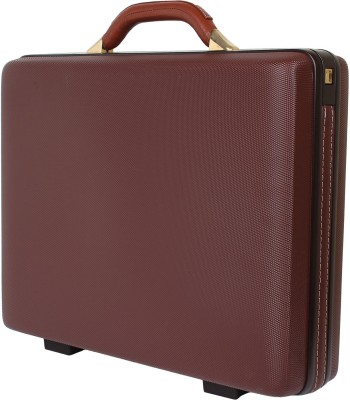 Vip bl bc large brown Small Briefcase - For Men