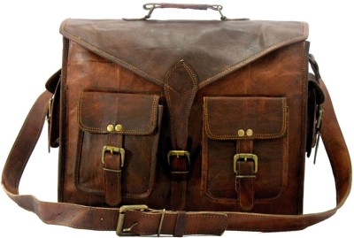 CRAFAT abp Medium Briefcase - For Men(Brown)