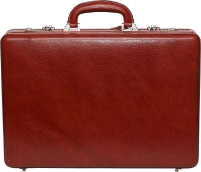 C Comfort EL441 C Comfort Genuine Leather Expandable Briefcase Office Bag Medium Briefcase - For Men, Boys