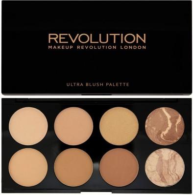 Makeup Revolution London Blush & Contour Palette All About Bronzed