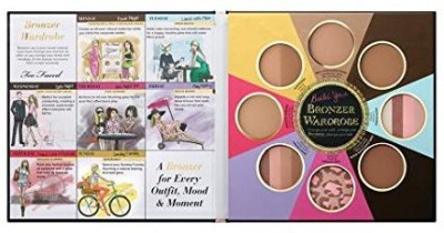 Too Faced Faced - The Little Black Book Of Bronzers Bronzer Collection