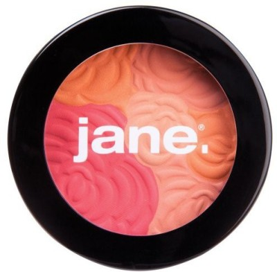 Jane Cosmetics Cosmetics Multi-Colored Cheek Powder, Peach Bouquet, 288 Ounce