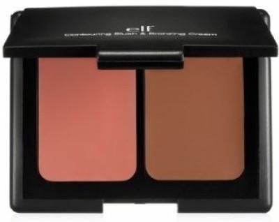 e.l.f. Cosmetics Contouring Blush and Bronzing Cream, St. Lucia, 0.34 Ounce