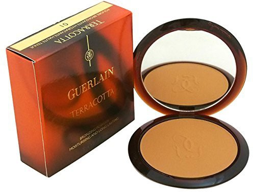 Guerlain Terracotta Bronzing Powder, Moisturizing and Long Lasting, # 01, 0.35 Ounce(Multicolor)