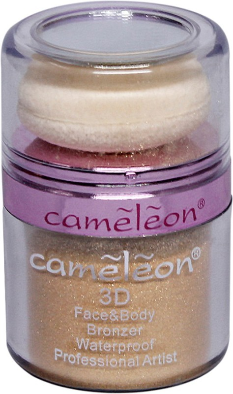 Cameleon 3D Face & Body Waterproof Bronzer(Gold)