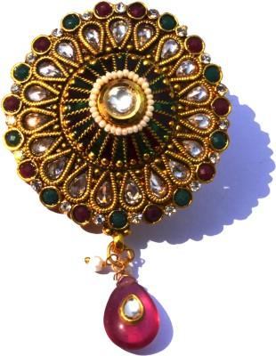 Ruvee Kundan Shringar Brooch