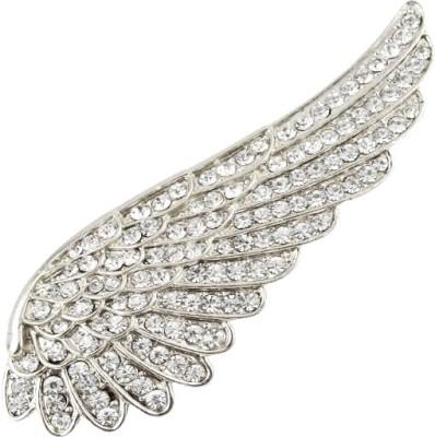 Silver Shoppee Wings Brooch