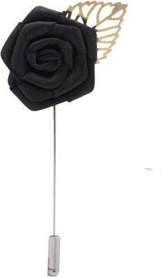 Wi Retail Ebony Rose Brooch