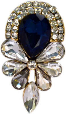 YNK fashion White And Blue lapel Pin / Brooch Brooch