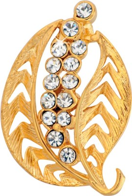 Ilina Brass Brooch