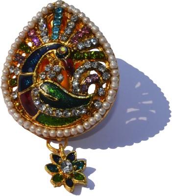Ruvee Dancing Peacock Brooch