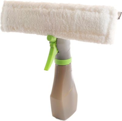 Inventure Retail 3 in 1 Windows Easy Glass Cleaning Spray Type Wiper Microfibre Dry Brush