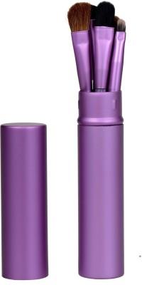 Lifestyle-You 5 Pcs Imported Makeup Eyeshadow Brush Set With Aluminium Tube Case
