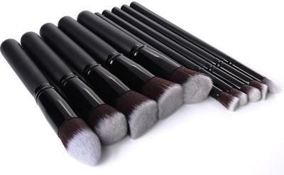 SRKC Black Kabuki Makeup Brush Set