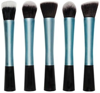 KanCai Professional Facial Care Cosmetic Blush Makeup Brushes Set Soft Synthetic Hair Make up Brush Kit