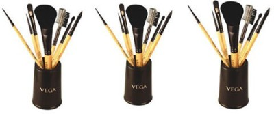 Vega Set Of Seven Make-up Brushes
