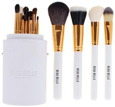 Beau Belle White Makeup Brush Set