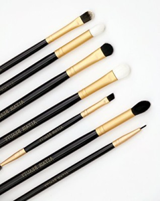 Altair Beauty Eye Make Up Brushes Set - PRO Eyeshadow Blending, Eyeliner, and Eyebrow Makeup Brush Kit