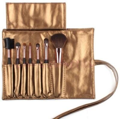 SRKC Golden Makeup Brush Set