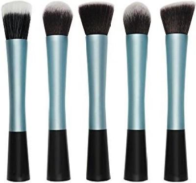 Afunti Professional Synthetic Kabuki Makeup Brush Cosmetic Face Make up Set Blusher Powder Foundation Brush Kit
