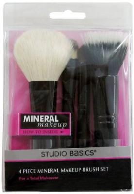 Paris Presents Incorporated Studio Basics Mineral Makeup Brush Set