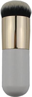 GYBest 1PCS Bold Handle Large Round Head Makeup Brushes/foundation Brush/blush Brush/buffer Brush/powder Brush/bronzer Brush/bb Cream Brush/beauty Cosmetics (Golden and White)