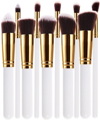 Dewberry-10-Pcs-Professional-White-Makeup-Brush-set