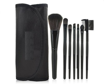 KOLIGHT Fashion Mini Travel Cosmetic Makeup Make up Brushes Set with Pouch Bag Case